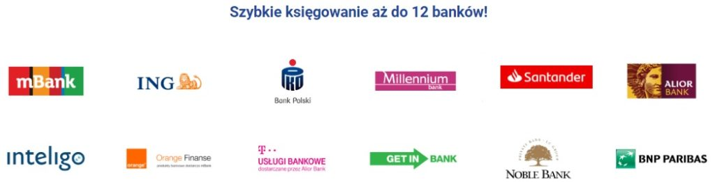 Banki obsługujące STS Pay